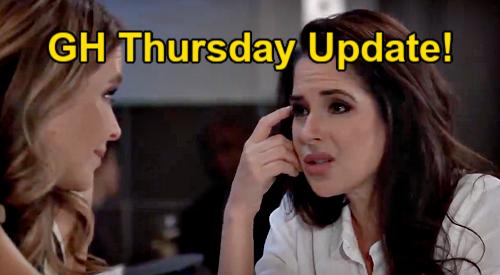 General Hospital Spoilers Update: Thursday, July 22 – Sam Embarrassed – Portia Wins, Jordan Loses – Peter's Threat to Liz & Finn
