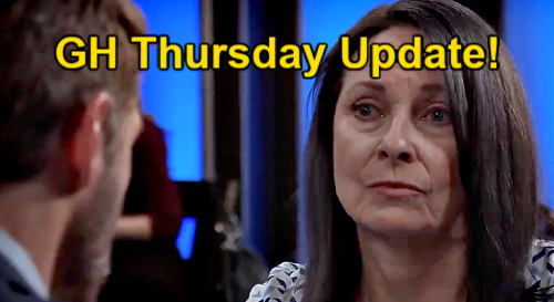 General Hospital Spoilers Update: Thursday, May 13 – Nina's Risky Date Night – Gladys Trouble – Vengeful Cyrus Targets Carly