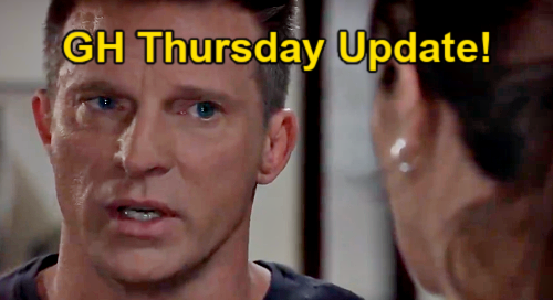General Hospital Spoilers Update: Thursday, May 6 – Cam Wants Killer Peter Proof – Jason's Next Move – Dante & Sam Strike Deal