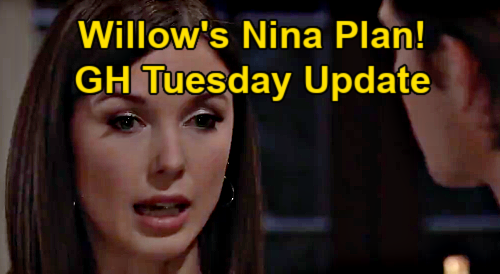 General Hospital Spoilers Update: Tuesday, February 23 – Willow's Plan for Grandma Nina – Anna's Horrifying Peter Truth