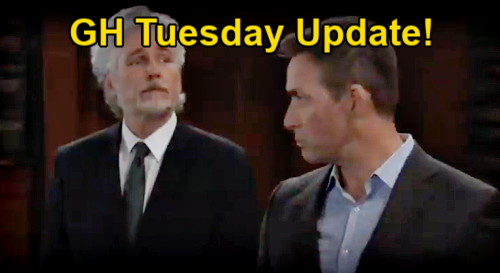 General Hospital Spoilers Update: Tuesday, January 19 – Sam Confronts Liz Over Franco's Tumor - Martin Destroys Tracy's Story