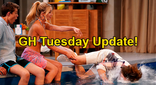 General Hospital Spoilers Update: Tuesday, July 20 – Spencer Soaked After Pool Payback – Jason Snoops to Help Liz