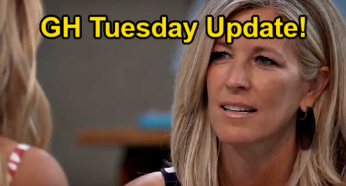 General Hospital Spoilers Update: Tuesday, July 27 – Peter's Disappearance - Carly's Engagement Questions