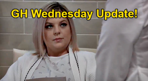 General Hospital Spoilers Update: Wednesday, April 7 – Britt & Maxie Trick Peter – Alexis' Goodbye Wish – Valentin Baby Anxiety