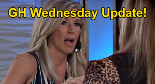 General Hospital Spoilers Update: Wednesday, July 28 – Peter Escape Answers – Portia & Curtis Fight – Gladys Blames Sasha