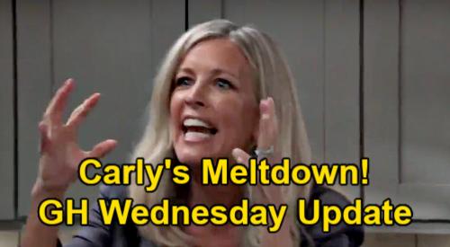 General Hospital Spoilers Update: Wednesday, March 17 – Carly's Meltdown - Ava's Franco Farewell Surprise – Liz's Revenge