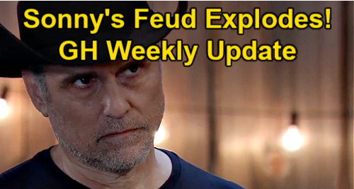 General Hospital Spoilers Update: Week of April 19 – Sonny's Feud Erupts - Nathan's Cemetery Advice for Maxie – Jax's Bad Luck