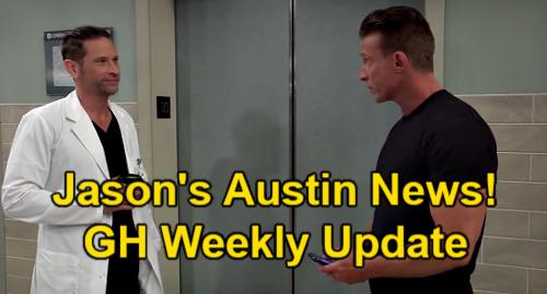 General Hospital Spoilers Update: Week of July 19 – Jason's Austin Investigation News – Trina's Trap – Britt's Pool Surprise