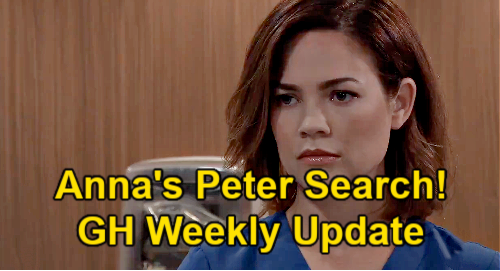 General Hospital Spoilers Update: Week of June 7 – Anna's Peter Search - Ava's Stalker Strikes – Curtis Picks a Lover
