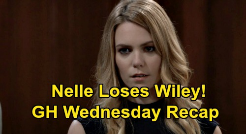 General Hospital Spoilers: Wednesday, August 12 Recap - Nelle Loses Wiley - Valentin New ELQ CEO - Brook Lynn Homeless