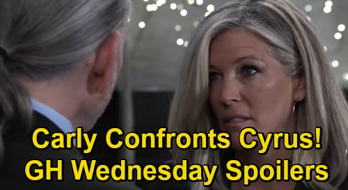 General Hospital Spoilers: Wednesday, December 16 – Sonny & Jason Secret Julian Weapon – Carly Blasts Cyrus - Laura's Syringe Battle