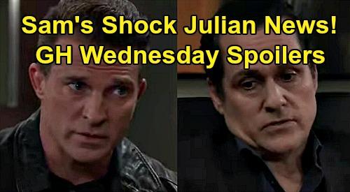 General Hospital Spoilers: Wednesday, December 2 – Sonny's Julian Shocker for Sam – Martin & Cyrus' Link - Carly Protects Joss