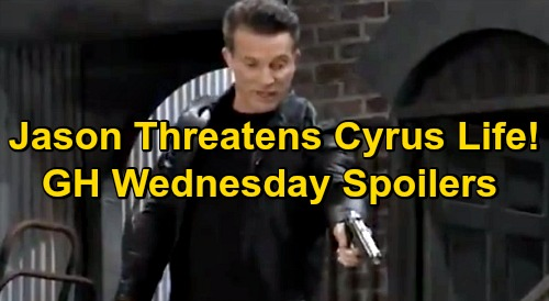 General Hospital Spoilers: Wednesday, December 30 – Jason Threatens To Shoot Cyrus Dead – Laura's Secret Weapon for Carly