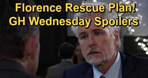 General Hospital Spoilers: Wednesday, January 6 – Valentin's Florence Rescue Plan – Disturbing Ryan News – Jordan Refuses Cyrus