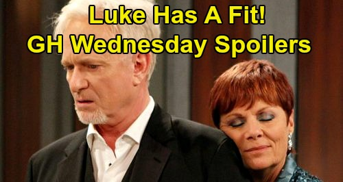 General Hospital Spoilers: Wednesday, May 27 – Michael the Traitor Infuriates Tracy, Luke Thwarted – Brad Fills In for Blackie Parrish