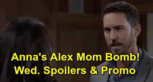 General Hospital Spoilers: Wednesday, October 14 – Peter Changes Anna's Mom Alex News - Brook Lynn & Amy's Epic Fail