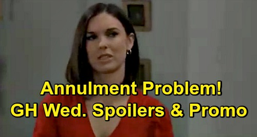 General Hospital Spoilers: Wednesday, October 21 – Valentin & Brook Lynn Steamy Night Consequences – Willow Asks About Annulment