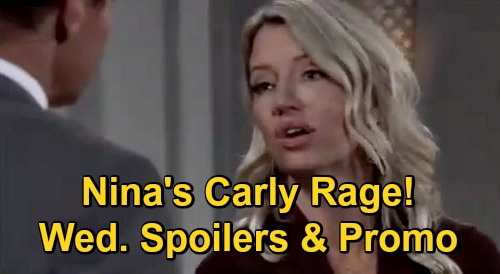 General Hospital Spoilers: Wednesday, October 28 – Dante's Marriage Tips for Michael – Cyrus' Offer for Franco – Nina's Carly Rage