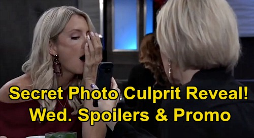 General Hospital Spoilers: Wednesday, September 23 – Secret Photo Culprit Revealed – Carly Confesses to Jason – Ned Grills Julian