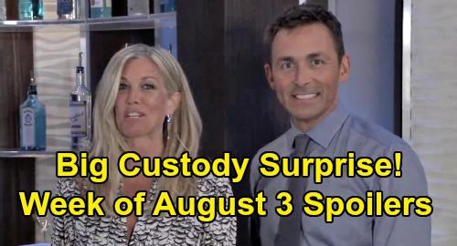 General Hospital Spoilers: Week of August 3 – Nelle's Custody Surprise – Nina Betrayal - Sam & Carly Struggle – Cyrus Strikes