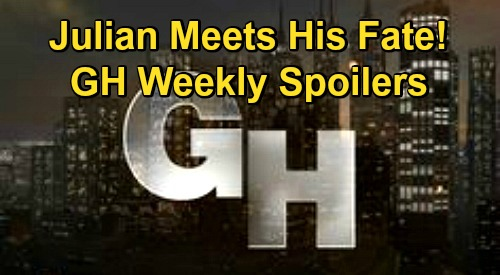 General Hospital Spoilers: Week of December 14 – Julian Meets Deadly Fate – Martin & Cyrus Battle – Britt's New Orders