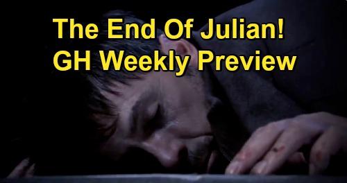 General Hospital Spoilers: Week of December 14 Preview - Julian Goes Down - Michael Assaults Chase - Jordan Defends Taggert