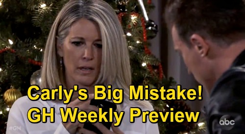 General Hospital Spoilers: Week of December 28 Preview - Carly Triggers Cyrus Explosion - Willow & Chase Party - TJ Rages at Molly