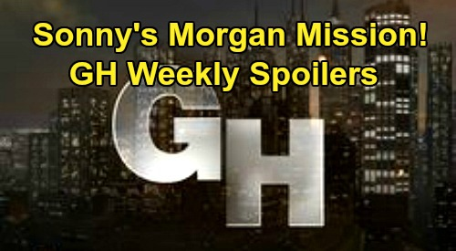General Hospital Spoilers: Week of June 1 – Sonny's Morgan Mission – Jake's Creepy Helena Vision – Peter Busted with Faison's Lighter