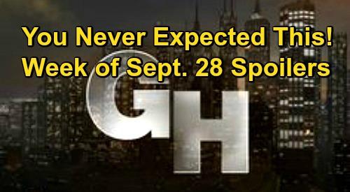 General Hospital Spoilers: Week of September 28 – Brutal Battles, Homecoming Shockers, Former Flame Drama and More