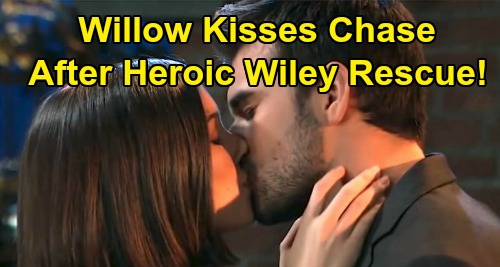 General Hospital Spoilers: Willow Kisses Chase After Heroic Wiley Rescue – Leads To Fake Sasha Affair Confession?