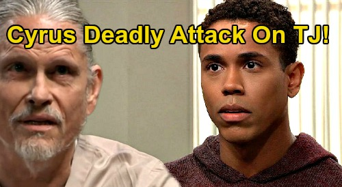 General Hospital Spoilers: Cyrus' Deadly Attack on T.J., Molly Freaks – Jordan Hit Where It Hurts, Stella Returns Home