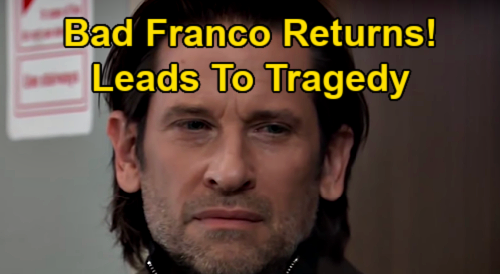 General Hospital Spoilers: 'Bad Franco' Return Leads to 'Friz' Family Tragedy - Cameron Haunted by Dead Father Zander's Ghost?