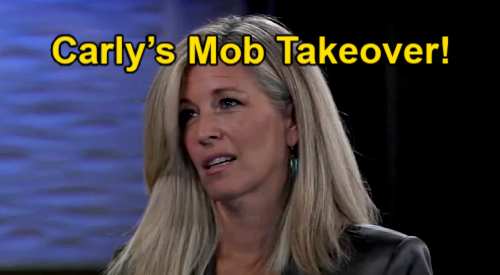 General Hospital Spoilers: Carly's Mob Takeover, Fills In for Jailed Jason at Five Families' Meeting