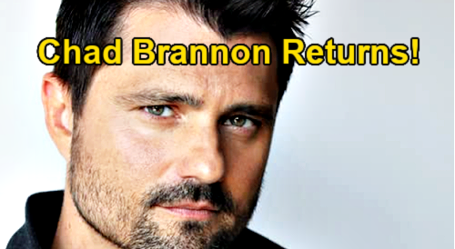 General Hospital Spoilers: Chad Brannon Returns to GH – Zander Smith Back For Cameron's Tragedy