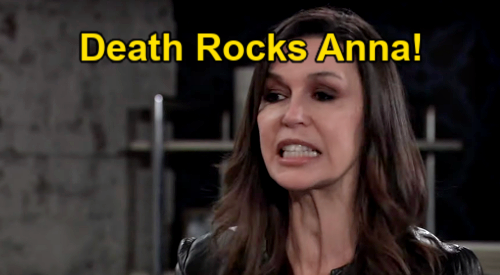 General Hospital Spoilers: Death Rocks Anna, Says Goodbye to Sean Donely – John Reilly Tribute Kicks Off Mystery