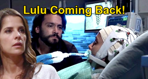 General Hospital Spoilers: Emme Rylan Back in LA, Shares Update – Lulu Spencer Returns & Wakes Up From Coma?