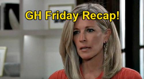 General Hospital Spoilers: Friday, April 16 Recap – Nina Confesses to Sonny – Alexis Violent Enemy – Cyrus & Anna Dangerous Game