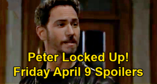 General Hospital Spoilers: Friday, April 9 – Peter Locked Up – Ava's Terrified Warning - Carly's Promise to Jason
