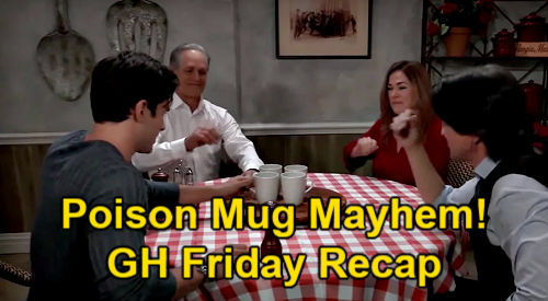 General Hospital Spoilers: Friday, April 9 Recap – Josslyn Injured – Hummingbird Cake Clue - Poison Mug Mayhem