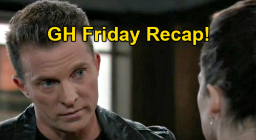 General Hospital Spoilers: Friday, February 26 Recap - Visitor Startles Maxie At Nathan's Grave - Jason Questions Franco