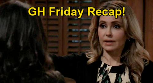General Hospital Spoilers: Friday, January 15 Recap - Sam & Olivia Onto Tracy - Jason Won't Return Cyrus Mom - Sonny's Bar Scene