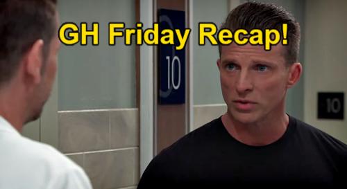 General Hospital Spoilers: Friday, July 16 Recap - Sam's Mystery Man - Lenny's Cancer Diagnosis - Jason Warns Austin