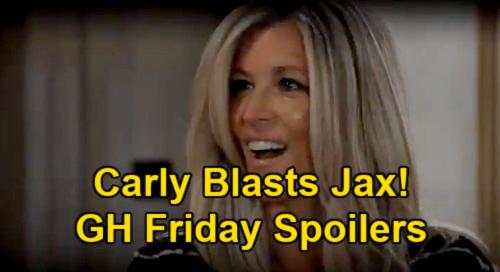 General Hospital Spoilers: Friday, June 11 – Nina Meets Baby Bailey – Valentin & Brook Lynn Grow Closer – Carly Explodes at Jax
