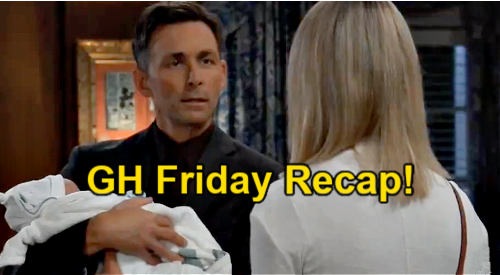 General Hospital Spoilers  Friday June 11 Recap – Nina Tells Wiley Grandpa Sonny Is Alive – Peter's Hospital Hideout.