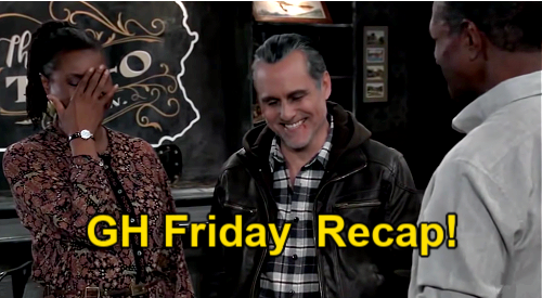 General Hospital Spoilers: Friday, March 12 Recap – Sonny Gains a Spy – Danny's Sad Sam Confession – Anna's Message from Faison