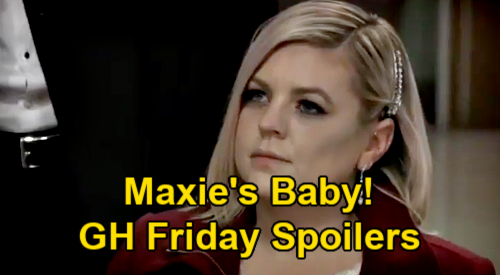 General Hospital Spoilers: Friday, March 5 – Maxie's Baby - Peter's Arrest – Franco Reels Over 'Andy' Video Bombshell