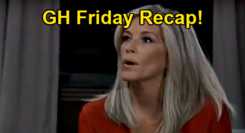 General Hospital Spoilers: Friday, May 14 – Sonny Flees Crime Scene – Carly Revises Will – Maxie's Peter Panic