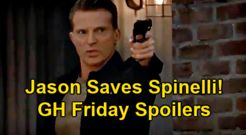 General Hospital Spoilers: Friday, May 28 – Jason Pulls Gun on Cyrus, Rescues Spinelli – Maxie & Austin's Next Surprise