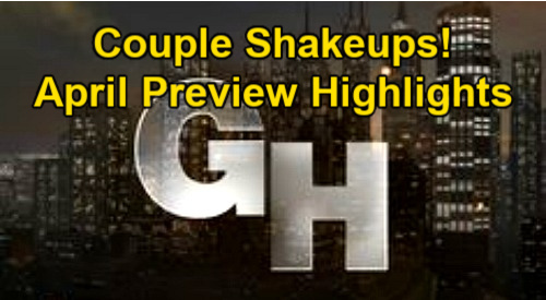 General Hospital Spoilers: GH April Preview – Couple Shakeups, Jail Time, Creepy Threats and Revenge Plots