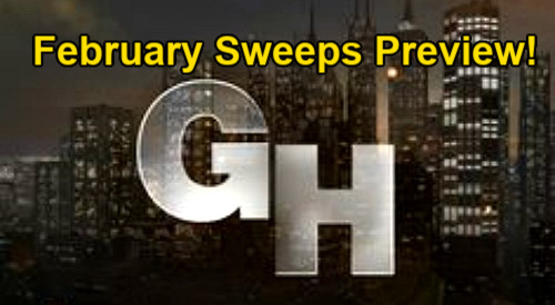 General Hospital Spoilers: GH February Sweeps Preview – Big Reveals, Fierce Attacks, Total Tragedies and Romantic Shakeups